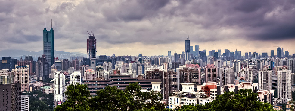 Shenzhen-china-city-skyline